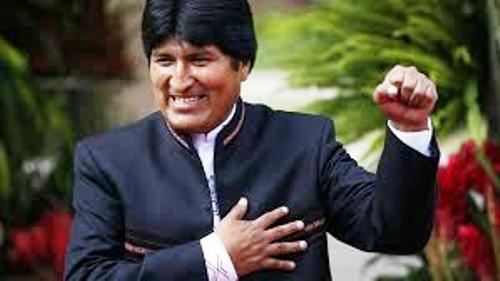 Evo Morales agradece respaldo campesino e indígena