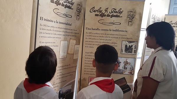 Llega a Camagüey exposición sobre Carlos J. Finlay donada por la UNESCO