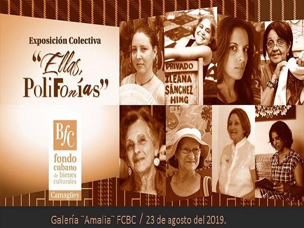 Inaugurarán en Camagüey exposición colectiva dedicada a las féminas cubanas