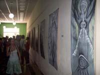 Exposición de grabados en hotel Puerto Príncipe, de Camagüey