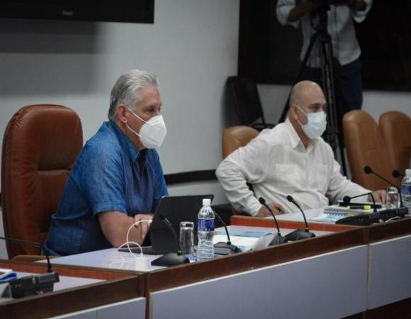 Pensar y actuar para Cuba: Encuentro virtual de la dirección del país con dos mil 600 dirigentes (+ Video)