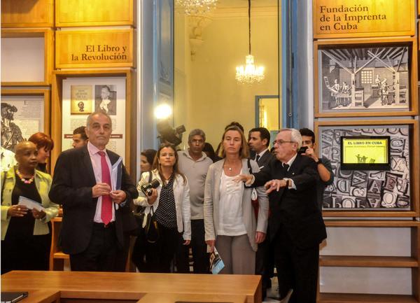 Visitó alta funcionaria europea emblemático centro cultural cubano (+ Fotos)