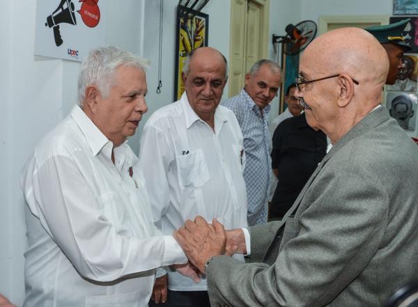 Rolando Alfonso Borges  recibe Distinción Félix Elmuza