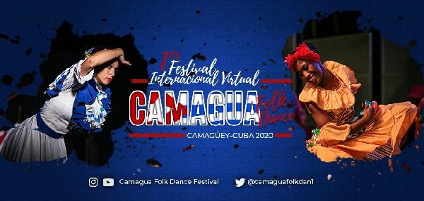 En diciembre en Camagüey, Primer Festival Internacional Virtual Camagua Folk Dance