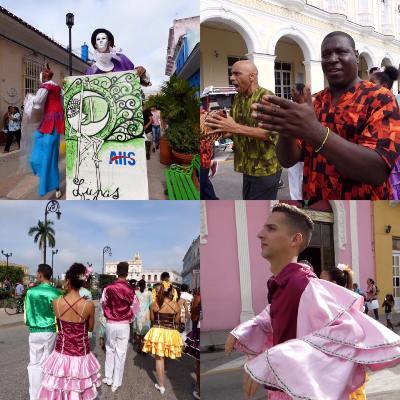 Participa Ballet Folclórico de Camagüey en festival Lunas de Invierno