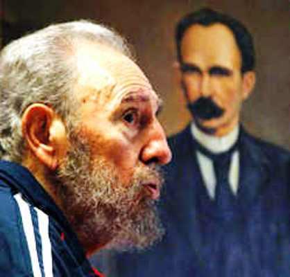 Resaltan vigencia martiana en pensamiento de Fidel
