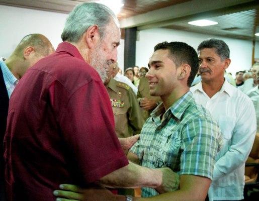 Fidel es el amigo de todos los cubanos