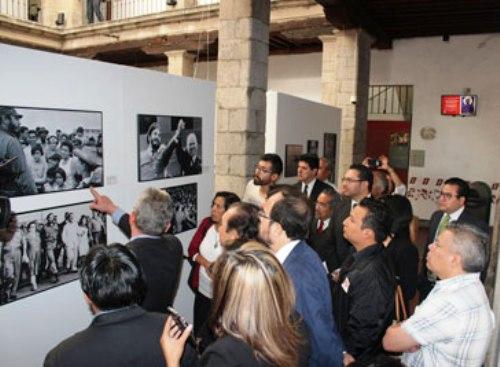 Fidel, 90 años en muestra fotográfica de México