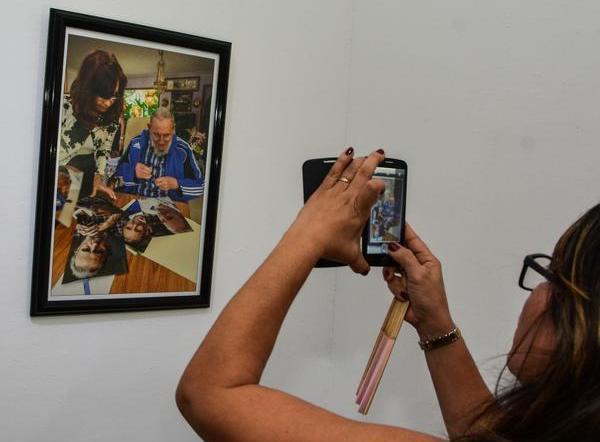 En la Casa del ALBA cultural dedican exposición a Fidel Castro