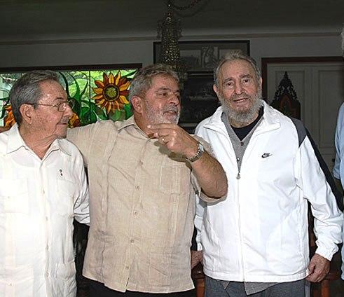 Fidel es la persona más leal que he conocido, asegura Lula da Silva
