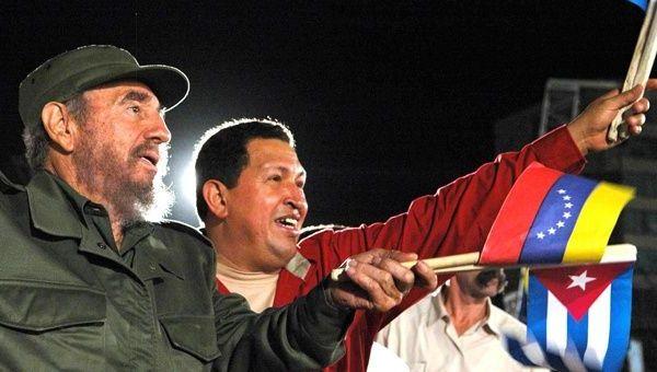 Fidel y Chávez guían la libertad de los pueblos, realzan en Ginebra