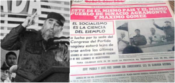 Con el ejemplo de Fidel, en Camagüey seguimos haciendo Historia (+ Audio)