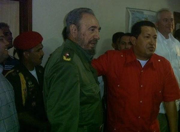 Cuando Fidel se le «escapó» a Chávez
