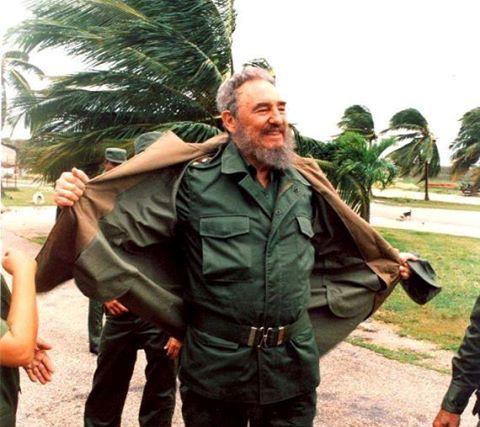 Fidel contra todos los ciclones (+ Fotos)