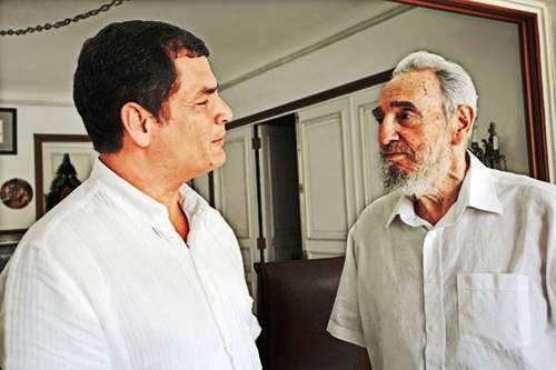 Fidel fue uno de los privilegios que me dio la vida: Rafael Correa