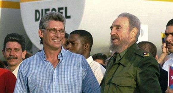 Resalta Díaz-Canel legado de Fidel Castro en Cuba (+ Tuit)