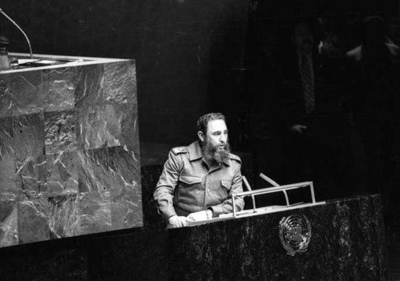 Recuerdan a Fidel en sede la Asociación Cubana de la ONU