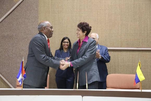 Firman Cuba y Venezuela nuevos proyectos de cooperación (+ Tuits)