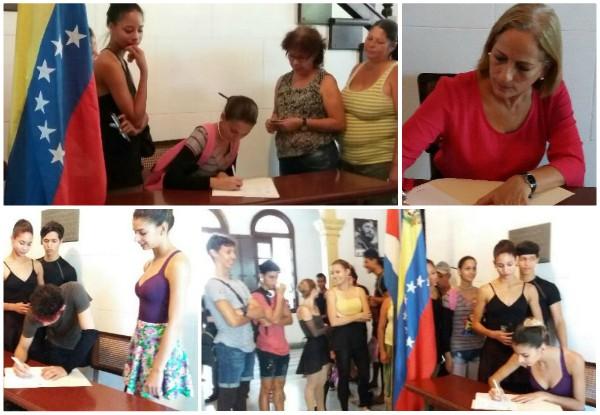 El Ballet de Camagüey respalda a Venezuela