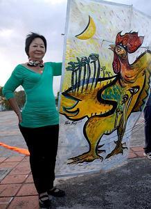 Pintora de Camagüey expondrá en festejos por 500 años de ciudad cubana