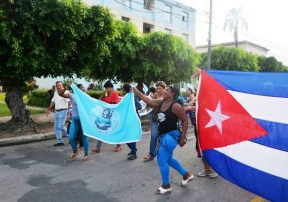 Recibe Federación de Mujeres Cubanas en Camagüey condición Vanguardia Nacional   (+ Audio)