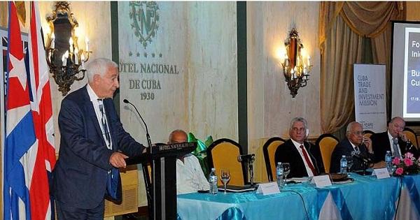 Continúa hoy Foro empresarial entre Reino Unido y Cuba