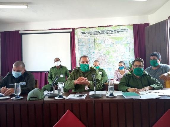 Analiza Consejo de Defensa Municipal situación epidemiológica de Camagüey