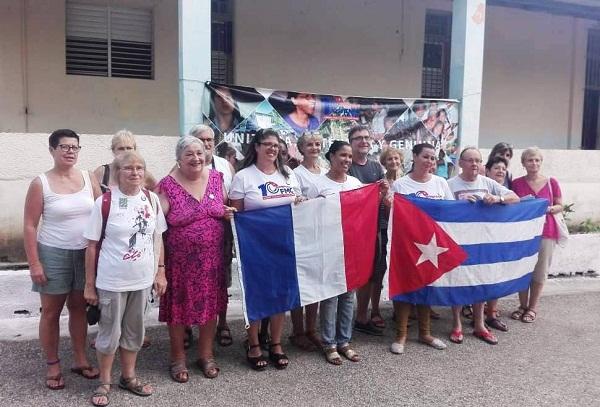 Cuba es solidaridad, aseguran en Camagüey amigos franceses (+Fotos)