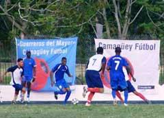 Selección camagüeyana a Campeonato Nacional de Fútbol será abanderada mañana