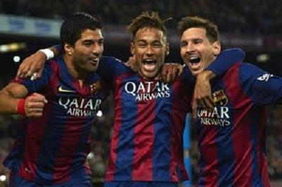 Messi, Neymar y Suárez: los mejores de 2015, según diario L´Equipe
