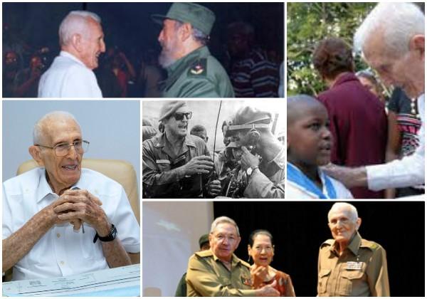 Falleció el Héroe de la República de Cuba José Ramón Fernández Álvarez