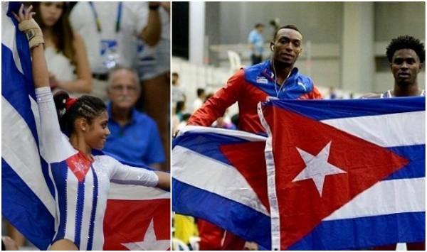 Cuba reina en la Gimnasia artística centrocaribeña