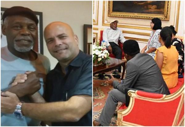 De nuevo en Cuba Danny Glover, con su mensaje de solidaridad
