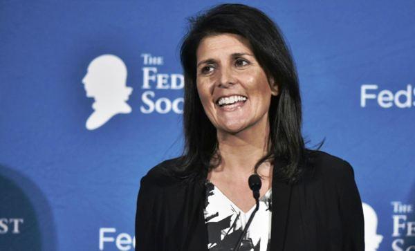 Nombran a gobernadora de Carolina del Sur como embajadora de EE.UU. ante ONU