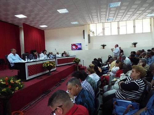 Economía y sociedad en agenda de Asamblea Provincial de Gobierno en Camagüey
