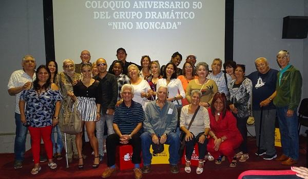 Celebra la Radio camagüeyana medio siglo del grupo dramático Nino Moncada