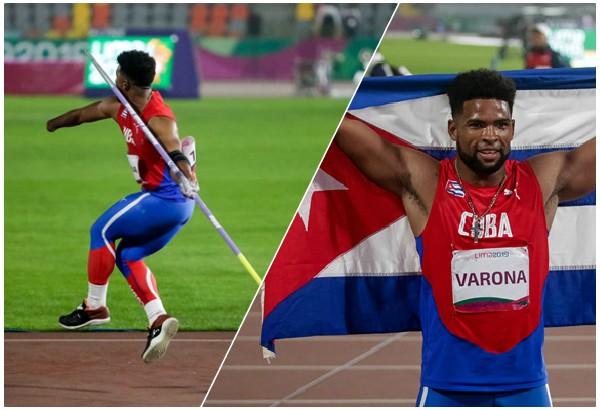 Camagüeyano Varona lanza dardo de oro en Lima