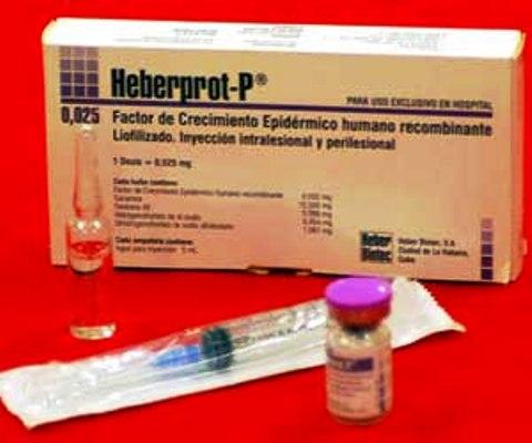 Fármaco cubano Heberprot-P presenta registro sanitario en 23 países