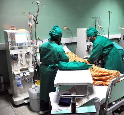 En Cuba reciben terapia sustitutiva de función renal cuatro mil 500 personas