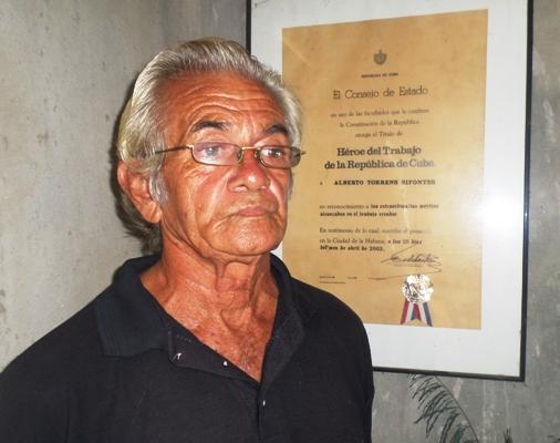 La familia, la mayor pasión de Alberto Torrens Sifontes (+Audio)