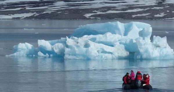 Alarma récord ártico y antártico por extensión mínima de hielo