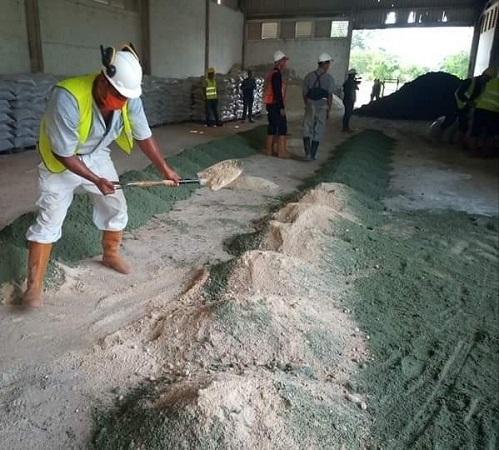 Unidad Minera de Najasa contribuye al desarrollo de la agricultura en la provincia