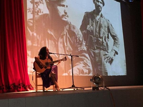 Desde el arte, Camagüey rinde homenaje al Comandante Almeida (+ Fotos)