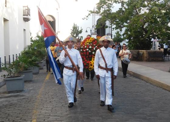 Camagüey rinde tributo a El Mayor por aniversario 174 de su natalicio (+ Audio y fotos)