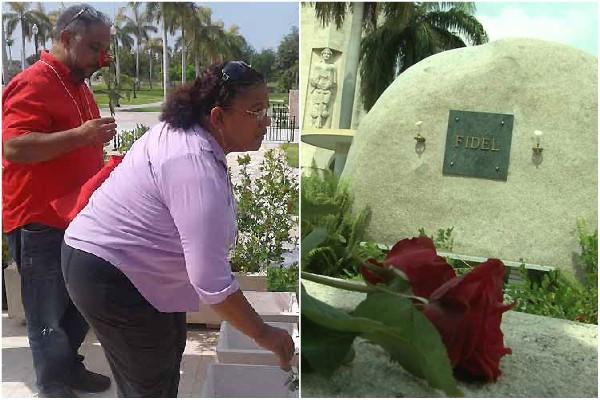 Rinden homenaje a Fidel Castro participantes en Seminario Internacional de Paz