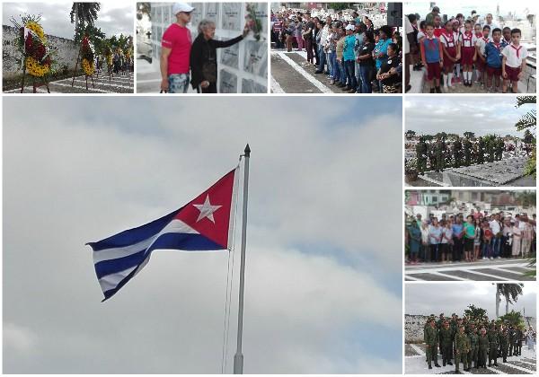 El Camagüey rinde tributo a sus mártires internacionalistas