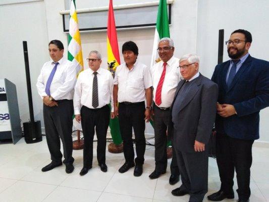 Recibió Evo Morales a Secretario del Consejo de Estado y Ministro de Justicia de Cuba (+ Fotos y Tuits)