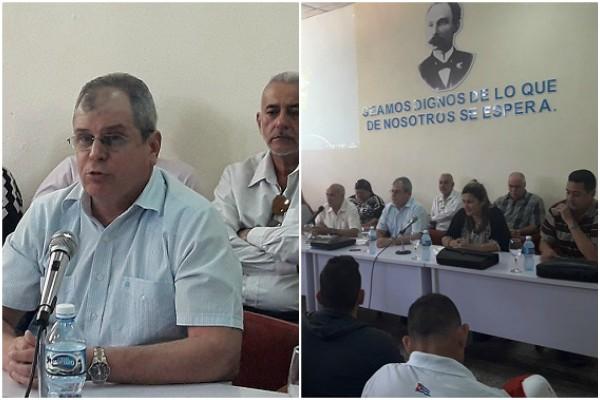 Secretario del Consejo de Estado reconoce labor de Camagüey para referendo constitucional (+ Audio)