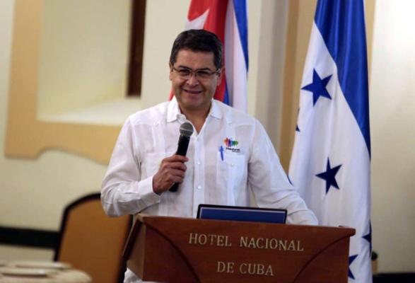 Presidente de Honduras satisfecho por resultados de visita a Cuba