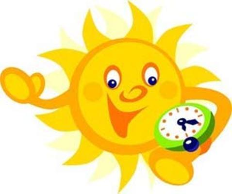 Adelante una hora su reloj el próximo sábado